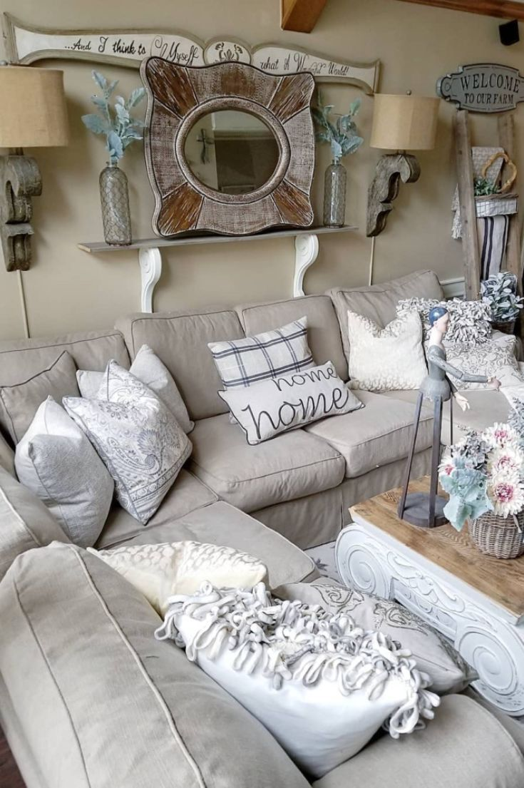 Living Room Inspiration Ideas For A Sectional Couch Grey