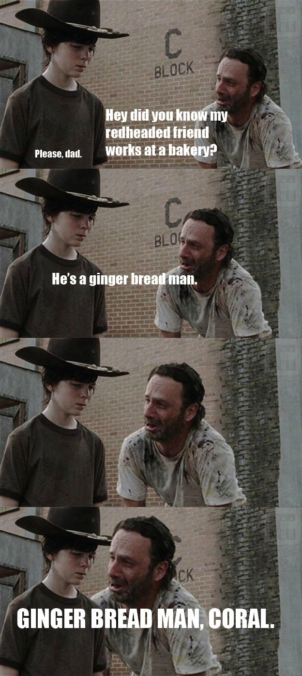 WTF RICK JUST KILL YOURSELF THESE JOKES ARE FUCKIN HORRIBLE!!  (Yet they made me laugh my ass off XD)
