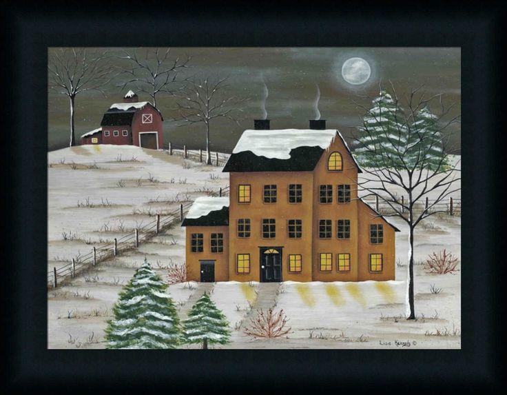 60 Best Folk Art Houses Images On Pinterest Naive Art