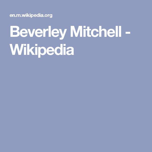 Beverley Mitchell - Wikipedia