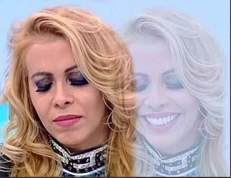 Ella es Joelma, la protagonista del meme de una mujer triste y sonriendo