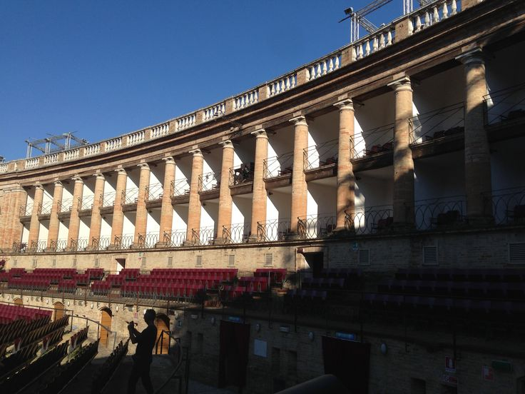 Macerata opera, Italy