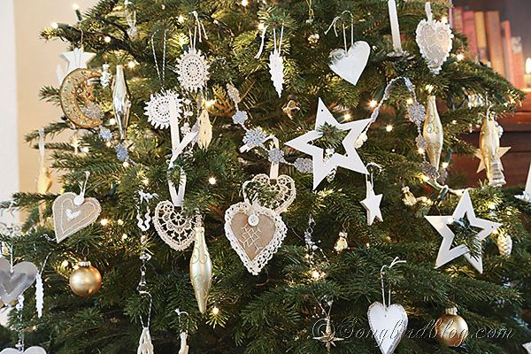 Christmas Decorations Gold And Silver