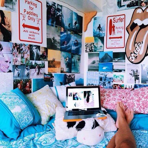 7636 best images about dorm room trends on pinterest for Surfers bedroom design