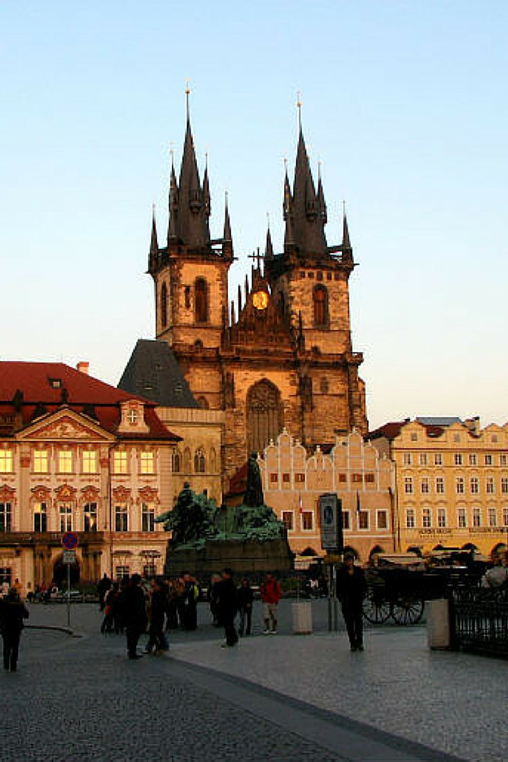Church of Our Lady before Týn in the Prague Old Town Square - Things to Do in Prague - The Trusted Traveller