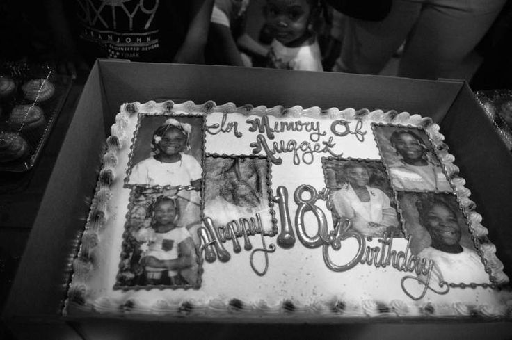 In Memory of Nugget. Siretha's family never got to cut the cake at her 11th birthday party, the day she was killed. Englewood, Chicago,  The idea of fame is a repeating motif in public shooters' confessions and manifestos. The media gives these attackers what they want, and they want fame.