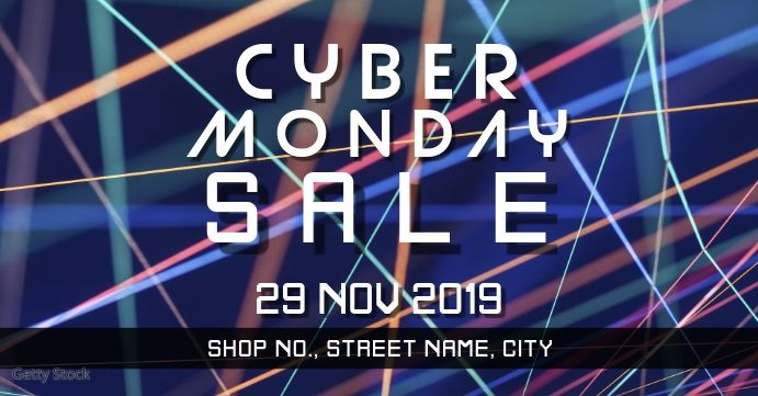 Cyber Monday Event In 2020 Cyber Monday Template Cyber Monday Ads Cyber Monday Banner