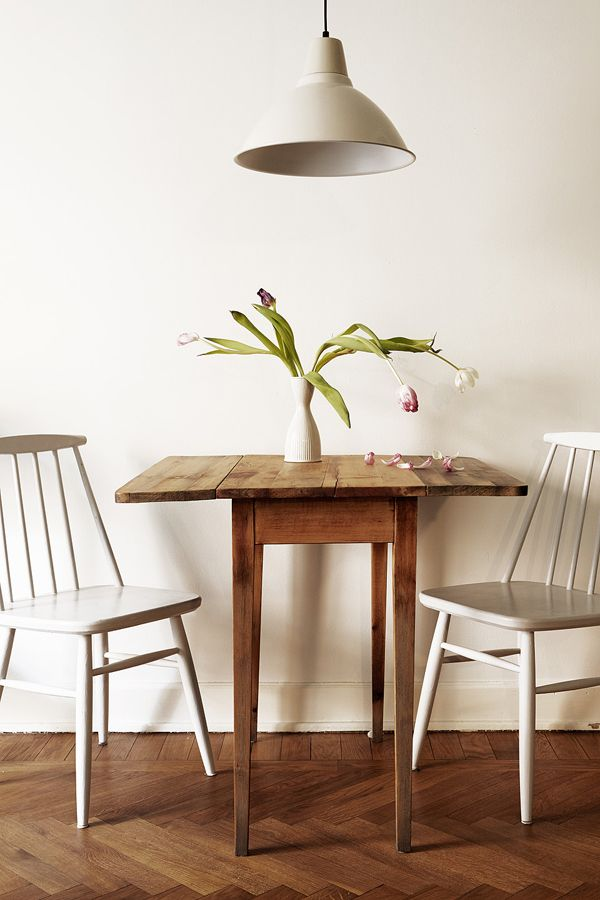 17 best ideas about small living dining on pinterest for Small dinner table and chairs