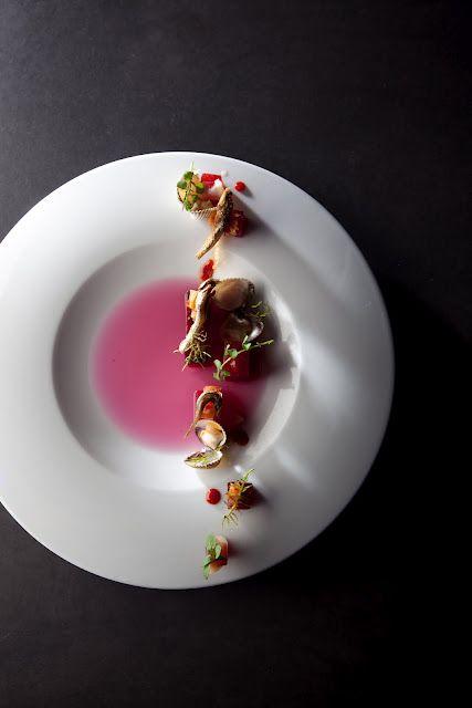Sang Hoon Degeimbre / Piet De Kersgieter et Flanders Taste Foundation {art on a plate!}