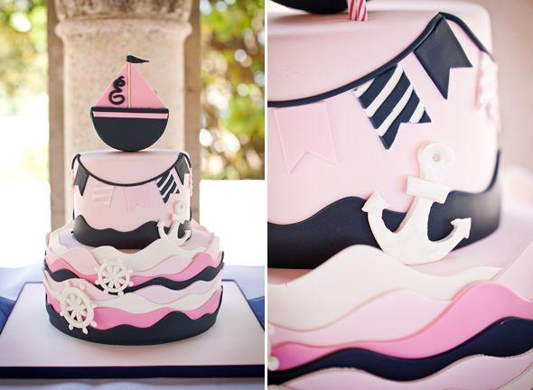 Nautical Cake Inspirations & Ideas