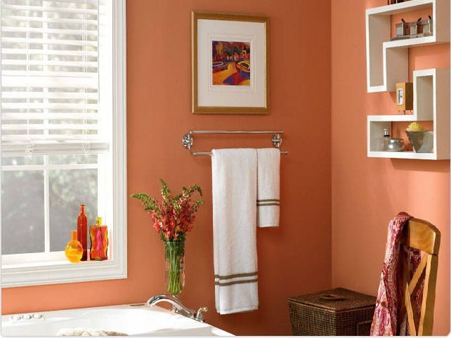 Two Tone Bathroom Paint Color Ideas Are Actually Quite Classic Looking Even So These Can Still Be Applied In Nowadays Bathroom