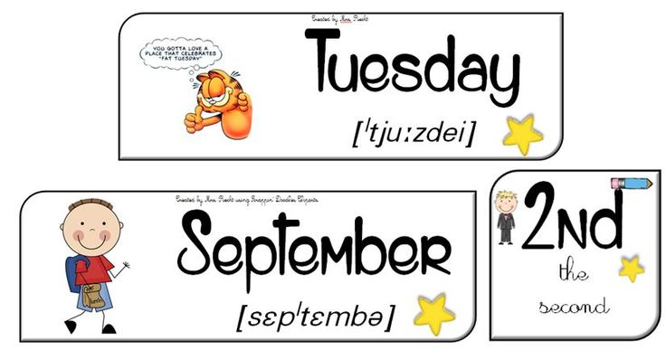 Nouvel affichage pour la date : prononciation pour les mois et jours, petite blague pour les jours et nombres ordinaux !