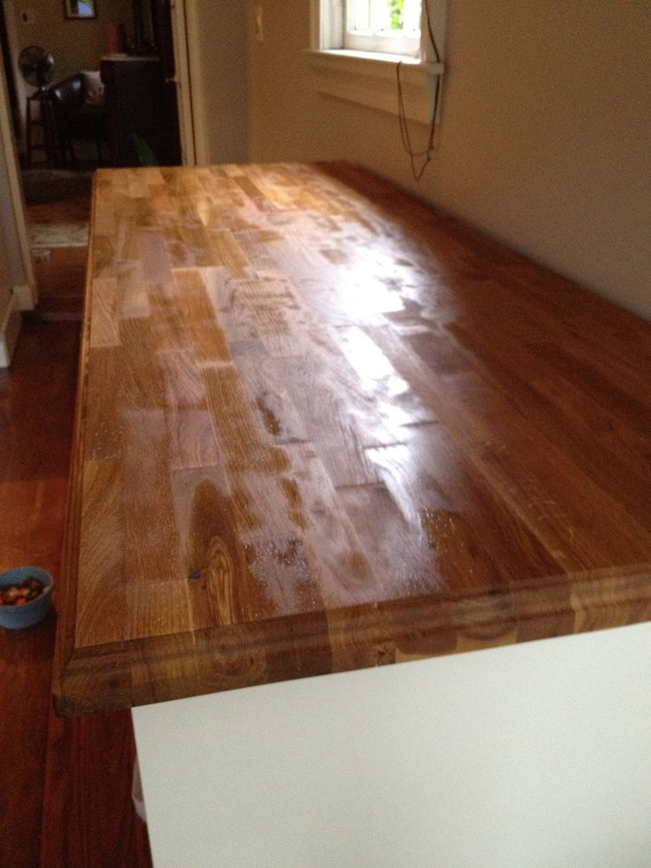 How To Properly Seal A Wood Countertops In Kitchen