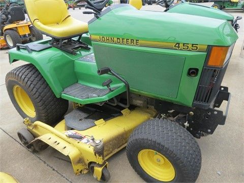 1998 JOHN DEERE 455 Riding Lawn Mowers For Sale At TractorHouse.com 2 cyl Kaw. engine fuel injected