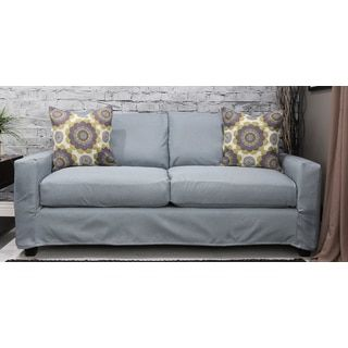 Shop for Somette Hornell Azure Sofa Slipcover  Get free delivery at  Overstock com. 29 best furniture images on Pinterest   Sofas  Couch slipcover and