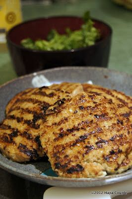 Curry Turkey Burgers    NOTE: This is a scheduled post...trying to catch up!   We loved this recipe!   The male half of this couple enjoy...