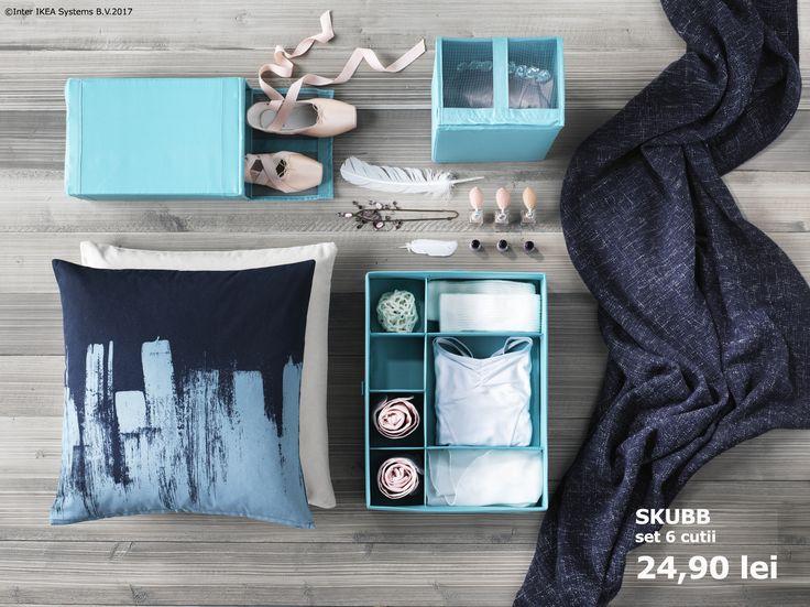 Pasiunile tale au un loc special în casă, iar cutiile SKUBB sunt pregătite să aibă grijă de ele.