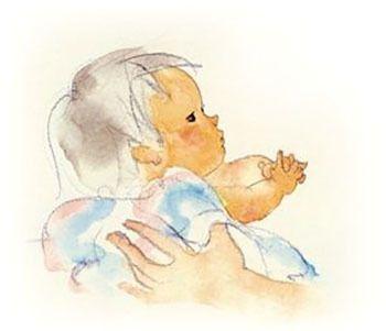 32歳の春、ちひろさんは長男・猛さんを出産します。しかし、狭い6畳の借部屋で、赤ちゃんを抱えながら画家の仕事を続けることは困難だったため、信州松川村の両親のもとへ息子・猛さんを預けることに。ちひろさんは、息子に会いたくて仕方がなかったようで、片道10時間近くもかけて頻繁に信州に通ったといいます。