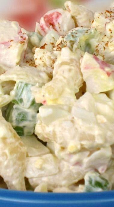 Crab Pasta Salad Recipe Food Network