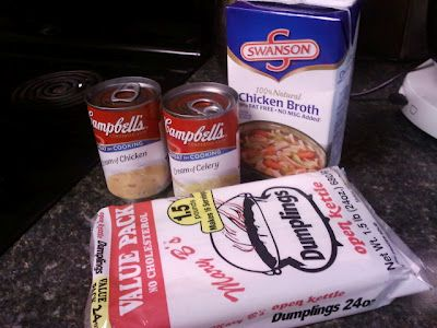 Chicken & Dumplin's Simple and easy I use this recipe all the time!!