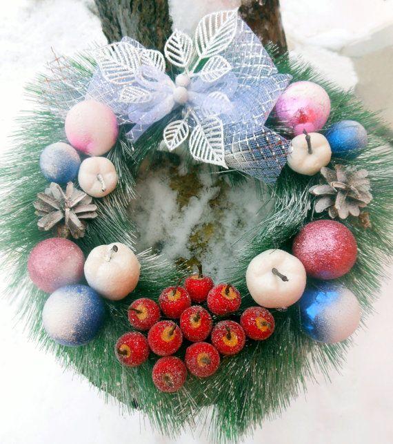 Winter WreathWreaths and HangersHoliday от TenderDreams на Etsy