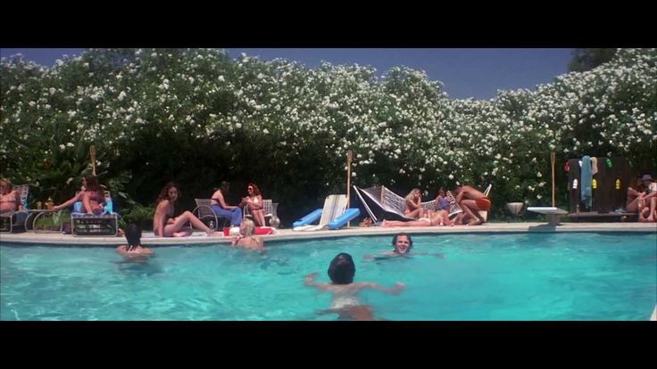 The inspiration - the pool party scene from Boogie Nights!
