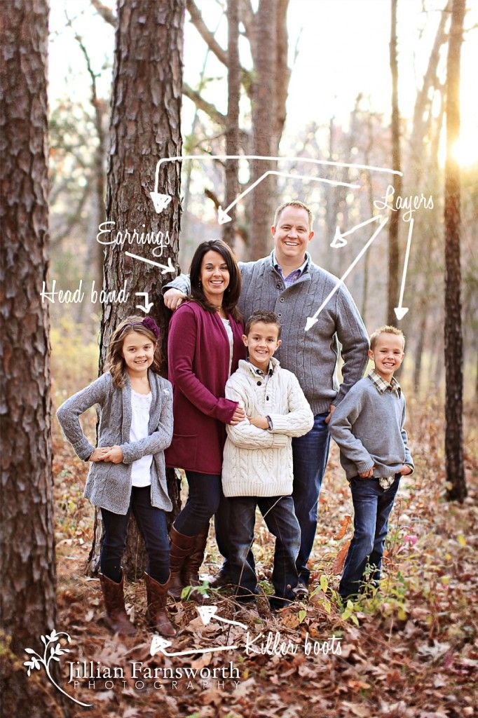 What to Wear for your Family Portrait Session « Jillian Farnsworth Photography