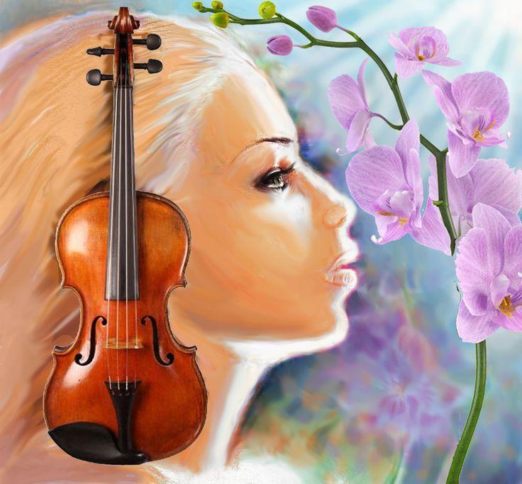 Muse of the music by CORinAZONe.deviantart.com on @deviantART