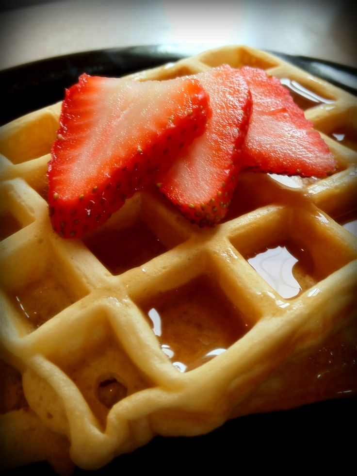 How to Make Delicious Buttermilk Waffles From Scratch. Separated eggs and added whites at the end.  Delicious