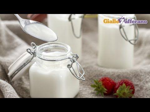 Come preparare lo yogurt fatto in casa, la ricetta di Giallozafferano - YouTube