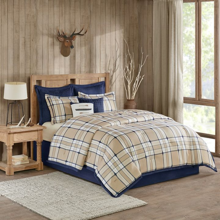 Woolrich Feather Plaid Comforter Set