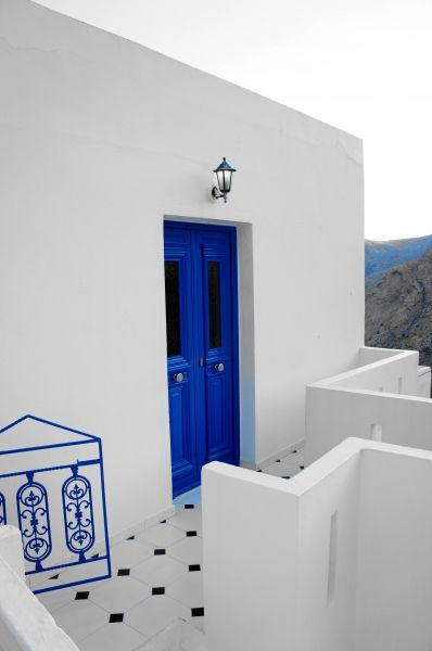 White and blue, Serifos island