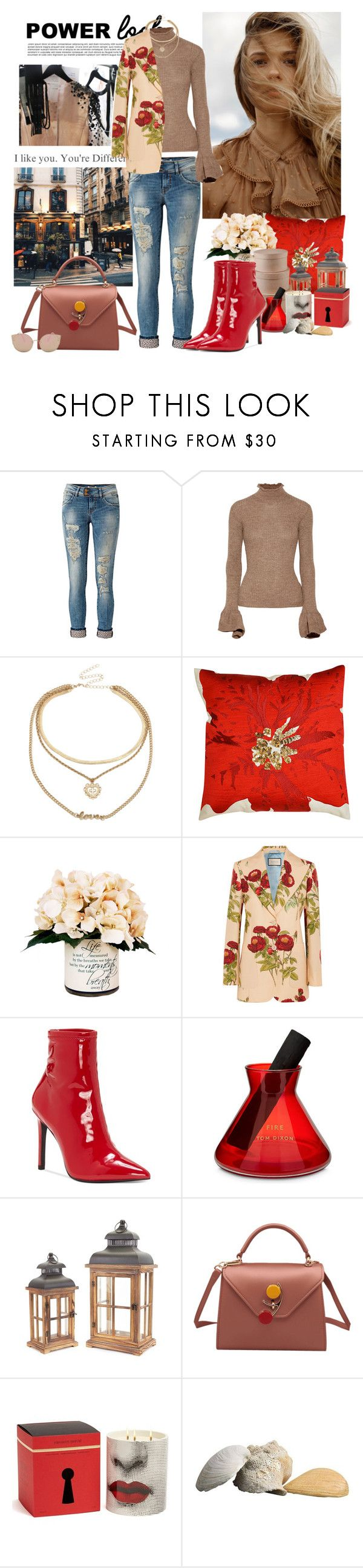 """Untitled #857"" by moni4e ❤ liked on Polyvore featuring LTB, Acne Studios, Hallmark, Creative Displays, Gucci, Jessica Simpson, Tom Dixon, Melrose International and Fornasetti"