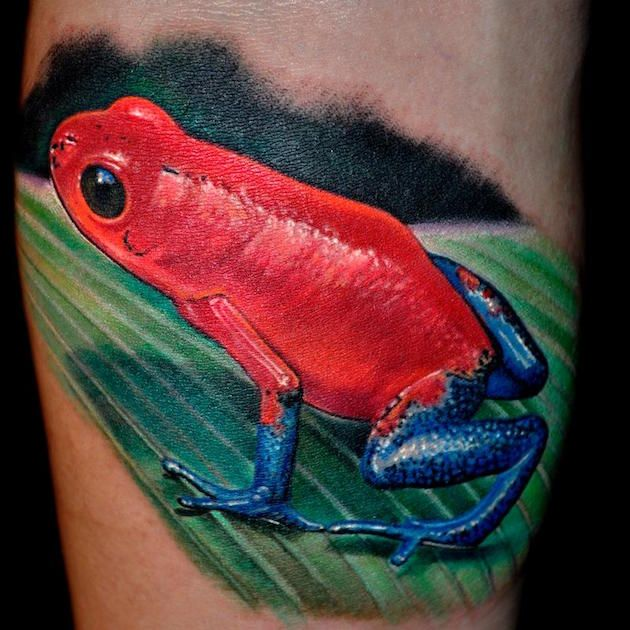 40 Frog Tattoos With Their Unique Meanings - Tattoos Win