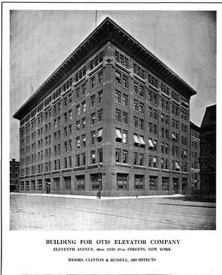 The Otis Elevator Company Building designed by Clinton & Russell c. 1912.