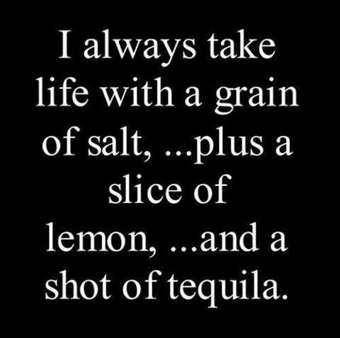 """Let's Get Drunk Quotes   ... of lemon, ...and a shot of tequila."""" National Margarita Day Quotes"""