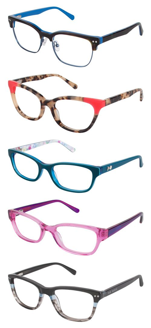 "New frames for kids, in the Ted Baker ""just kidding"", OIO, and Kate Young for Tura Kids collections."