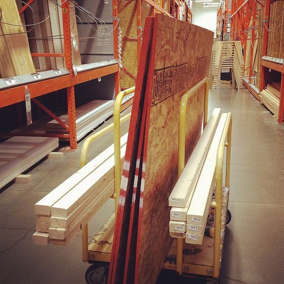 How to Build a Dance Floor... incase I ever need to do that haha