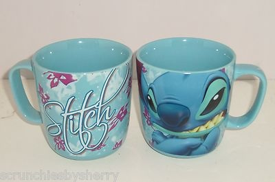 Disney Store Stitch Baby Blue Coffee Mug NEW