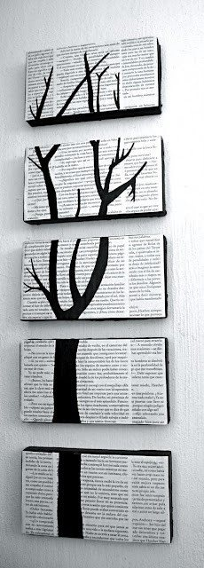 Pretty cool idea for how to turn used newspaper into a new craft idea. AND we can add in some design.