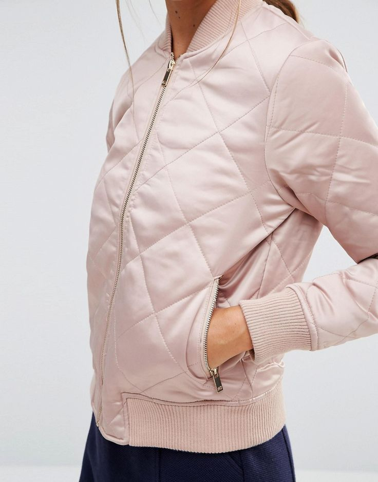 Image 3 of New Look Quilted Padded Bomber