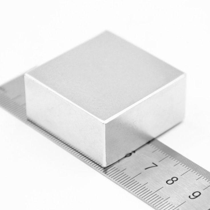 """1 יחידות בלוק 40x40x20 מ""""מ סופר עוצמה חזקה נדיר Earth מגנטים בלוק Neodymium מגנט NdFeB N52 ב-1 יחידות בלוק 40x40x20 מ""""מ סופר עוצמה חזקה נדיר Earth מגנטים בלוק Neodymium מגנט NdFeB N52 מתוך חומרים מגנטיים באתר AliExpress.com   Alibaba Group"""