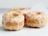Baked Pumpkin Doughnuts with Cinnamon Sugar recipe from Betty Crocker