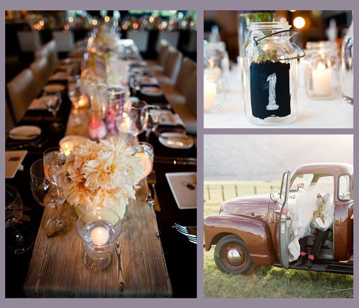 Country Wedding Centerpieces Ideas: Country Themed Weddings Centerpieces