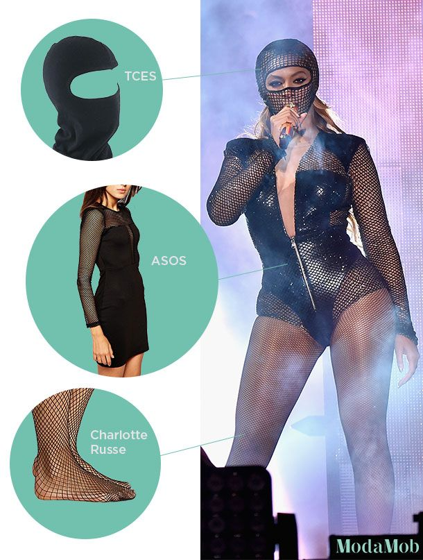 How to Get a #Flawless Beyoncé Halloween Costume | Modamob
