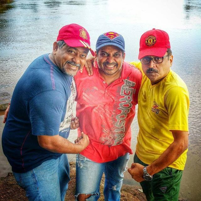 #APITConnect - Day 5 on #PoshterGirl set!!! The guardians of our Girl the real strength of our Poshter! Dop Producer & Director!!! by Sonalee Kulkarni http://ift.tt/1hcfT33