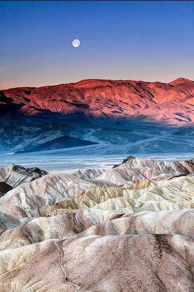 Vallée de la Mort, en Californie