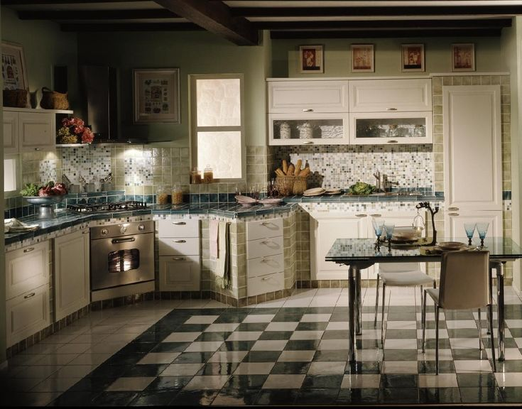 16 Gorgeous Italian Style Kitchen Design Inspirations Enticing Rustic Inspiration With Mosaic Tiles Backsplas