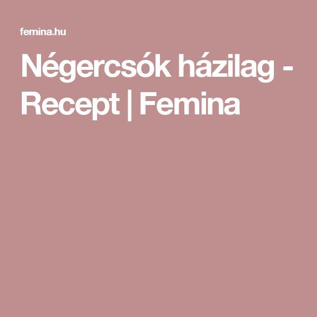 Négercsók házilag - Recept | Femina