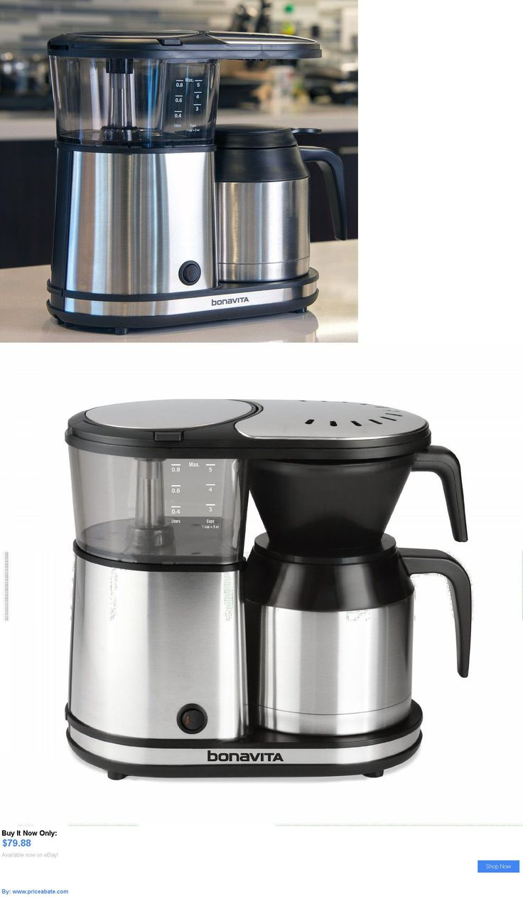 appliances: New Bonavita Bv1500ts 5-Cup Coffee Maker With Thermal Carafe BUY IT NOW ONLY: $79.88 #priceabateappliances OR #priceabate